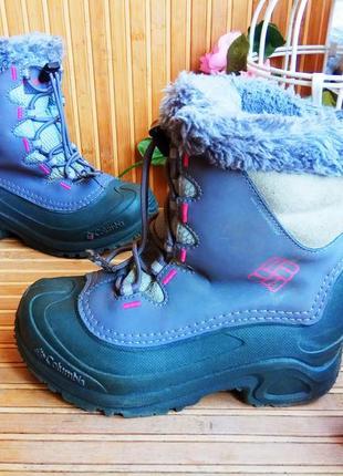 Зимние сапоги сноубутсы от columbia 32р.