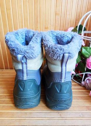 Зимние сапоги сноубутсы от columbia 32р.2