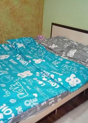 Очень красивое постельное белье, 2-спальный набор и евро в наличии