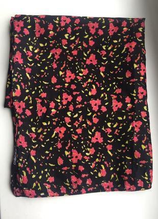 Красивый шарф, платок, цветочный принт pieces accessories