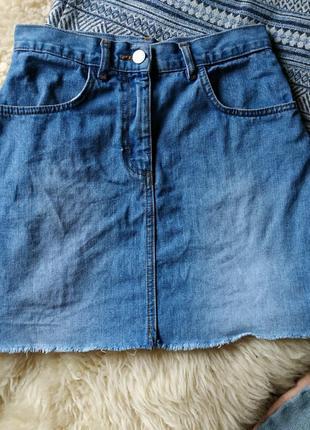 Трендовая мини юбка