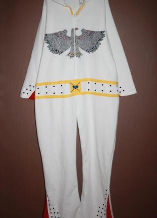 Теплое флисовое кигуруми пижама элвис №3