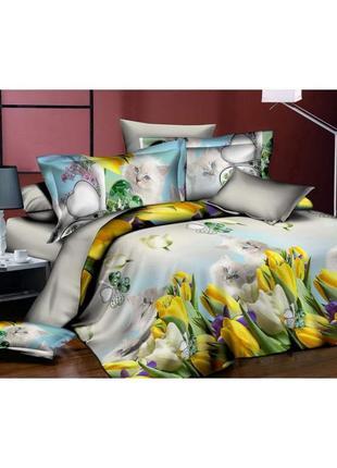 Комплект постельного белья 3d febe msp-901-2, 160x200 см1
