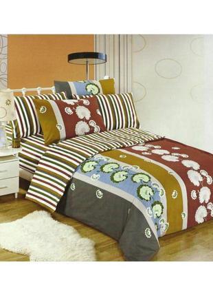 Комплект постельного белья cotton world lw-158-6, хлопок, 160x200 см1 фото