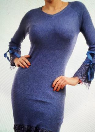 Красивое трикотажное платье n.every day