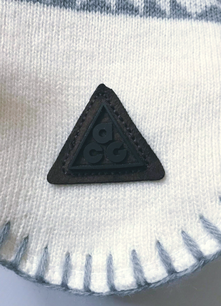 Теплая шапка ушанка, 2х слойная трикотах и флис,  с орнаментом р50-544