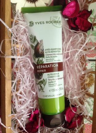 Бальзам для волос питание и восстановление от yves rocher