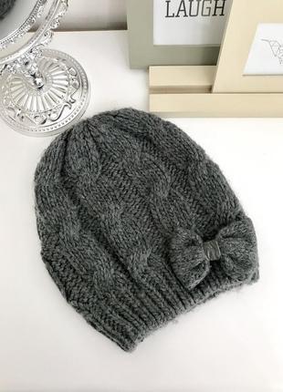 Шерстяная шапка abercrombie &fitch