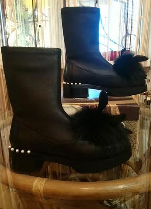 Мега-крутые ботинки.натуральная кожа,..