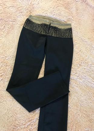 Брюки штаны джынсы 👖 чёрные