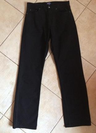 Высокая посадка, классические прямые джинсы  denim co!