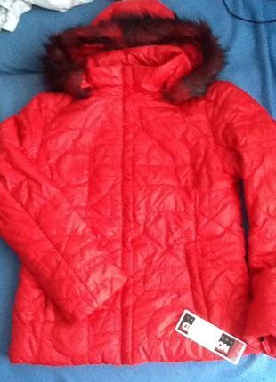 Куртка лыжная красная northland professional