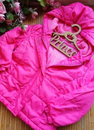 Демисезонная куртка 98-104р. шапка в подарок.