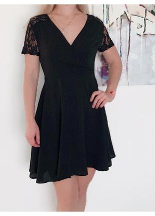 New look чёрное платье