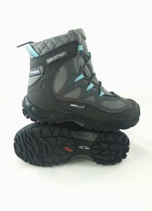Ботинки salomon 100% оригінал, супер теплі)