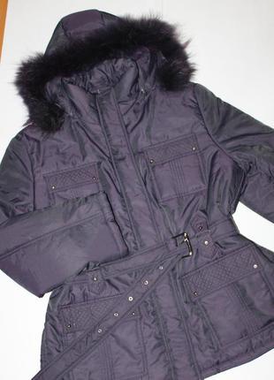 Куртка демисезон , мех натуральный