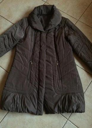 Большой размер, актуальное  пальто !