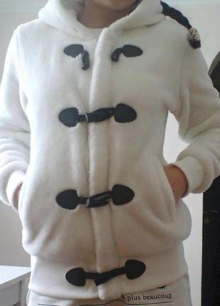 Куртка/тепла кофта плюш/штучне хутро