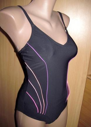 Купальник спортивный для бассейна 46-48 размер с утяжкой marks&spencer маркс и спенсер