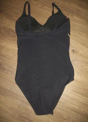 Купальник спортивный для бассейна 46-48 размер с утяжкой marks&spencer маркс и спенсер3 фото