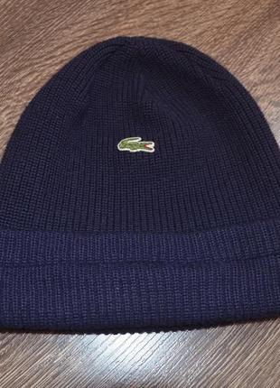 Оригинальная шапка lacoste ® beanie hats