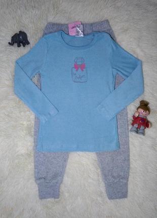 Махровая пижама на девочку  116 см.