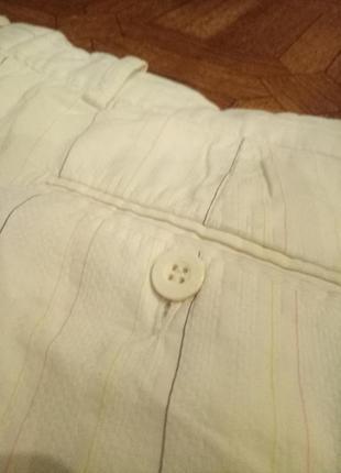 Мужские летние белые штаны