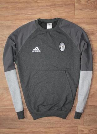 Спортивная футбольная кофта adidas juventus размер м