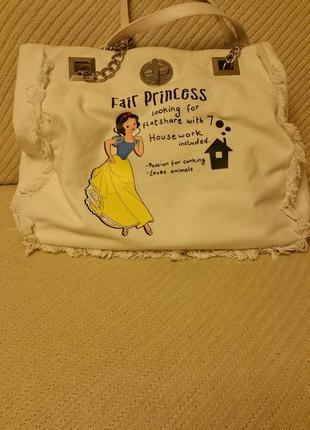 Сумка для принцесы. джинсовая сумка