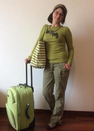 Laura biagiotti майка с длинными рукавами и аппликацией