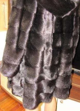 Продам греческую норковую шубу.состояние новой.очень густая.ращсер 42/44.длина 90см