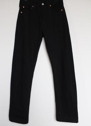 Levis 501 женские черные джинсы mom бойфренд