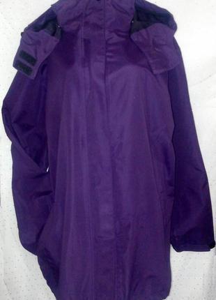 Качественная фирменная ветронепродуваемая демисезонная куртка батал (пог-76см)