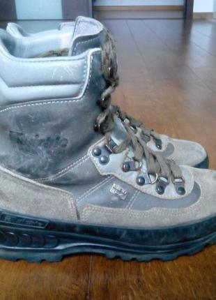 Ботинки трекинговые, горные raichle система gore-tex (не промокают) кожа  р. 39