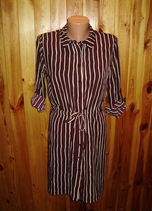 Распродажа!красивое платье-рубашка s/42 размера