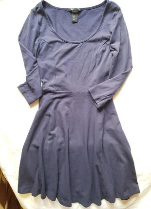 Базовое платье hm, p.xs