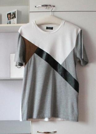 Классная мужская футболка от zara man