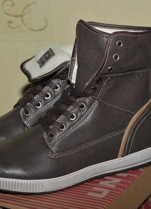 Мужские зимние ботинки высокие unionbay