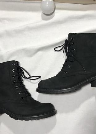 Кожаные ботиночки clarks 37