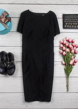 Деловое черное платье от south рр 16 наш 50