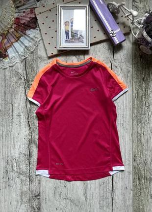 Спортивная футболка nike 8-10 лет