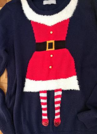 Новогодний свитерок.