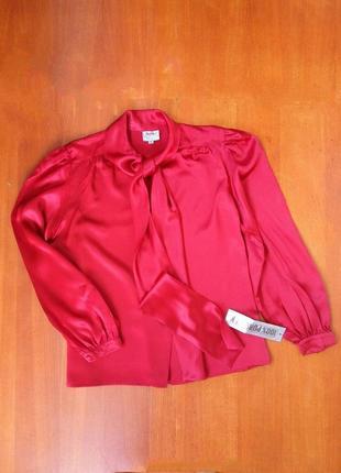 Блуза натуральный шелк m/l