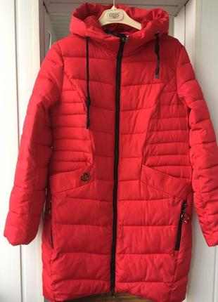 Пуховик куртка пальто зимнее новое