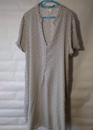 Платье-рубашка h&m размер 36 / 8 / s