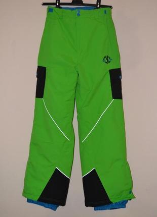 Мембранные горнолыжные сноубордические штаны yfk. рост 158-164см