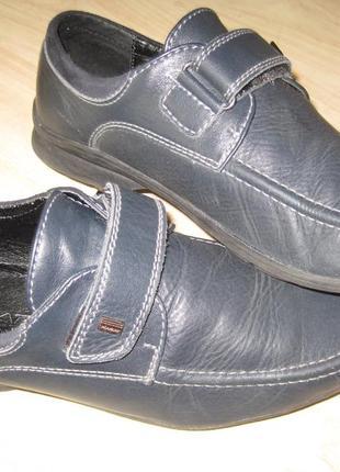 Туфли подростковые, р-р 38. кожа.
