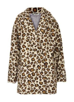 Доступно - актуальная эко-шуба/меховое пальто *topshop* 10 р.
