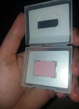 Минеральные тени для глаз розовая вуаль, матовые