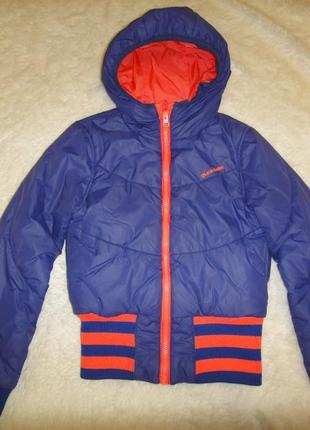 Теплая, легкая куртка на мальчика gsus sindustries р.134-140 синтепон